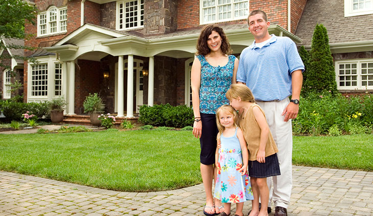 New Home in Illinois with home insurance
